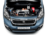 Peugeot Partner Tepee Electric 2017 wallpapers
