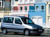Photos of Peugeot Partner 1996–2002