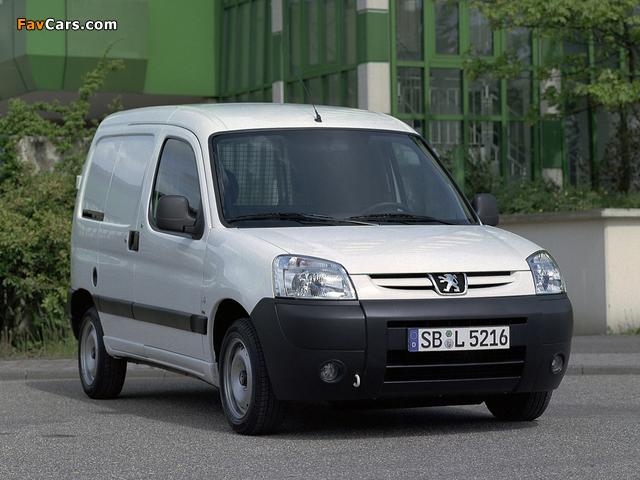 Photos of Peugeot Partner Van 2002–08 (640 x 480)