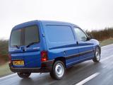 Photos of Peugeot Partner Van UK-spec 2002–08