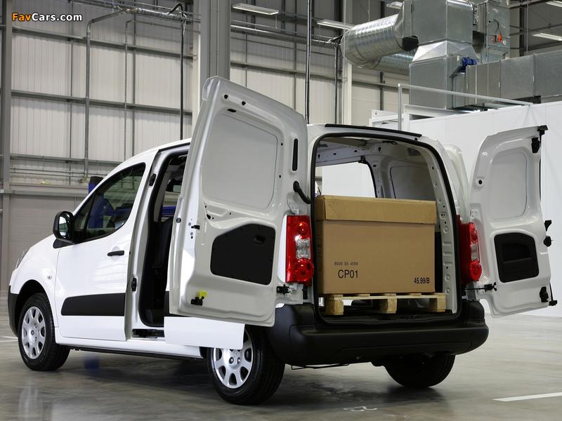 Photos of Peugeot Partner Van UK-spec 2008–12 (800 x 600)