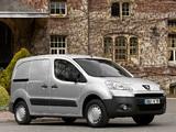 Photos of Peugeot Partner Van 2008–12