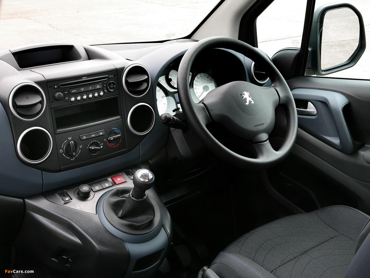Pictures of Peugeot Partner Tepee UK-spec 2008–12 (1280 x 960)