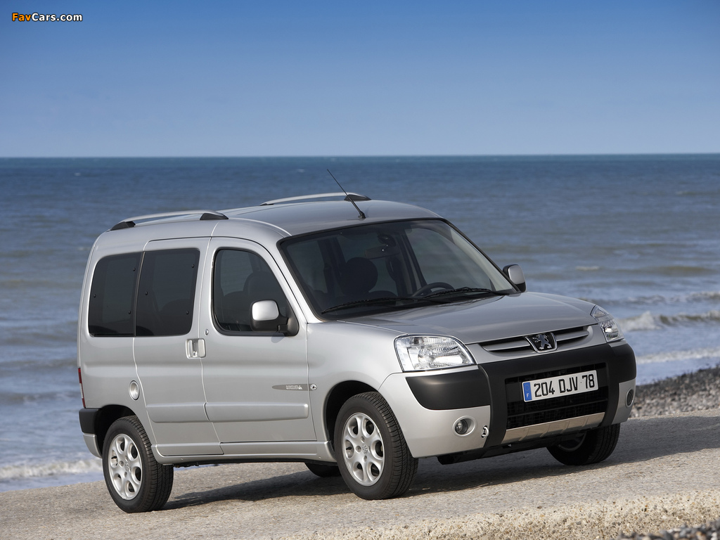 Pictures of Peugeot Partner Quiksilver 2008 (1024 x 768)