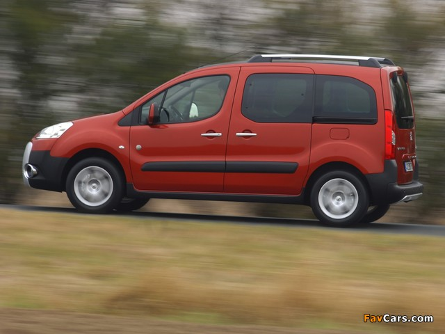 Pictures of Peugeot Partner Tepee Outdoor Pack 2010 (640 x 480)