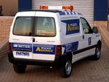 Peugeot Partner Assistance Van 2002–08 wallpapers