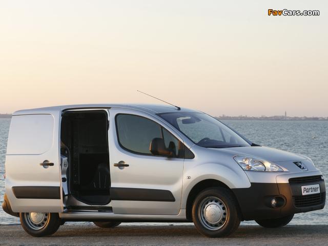 Peugeot Partner Van 2008–12 wallpapers (640 x 480)