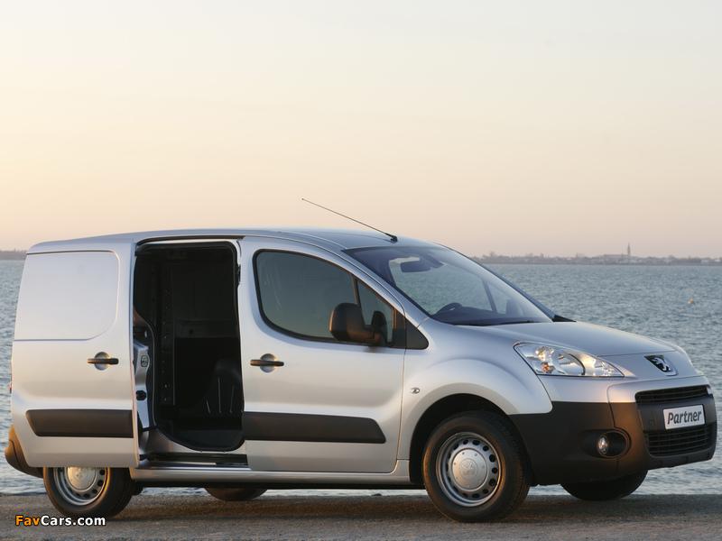 Peugeot Partner Van 2008–12 wallpapers (800 x 600)