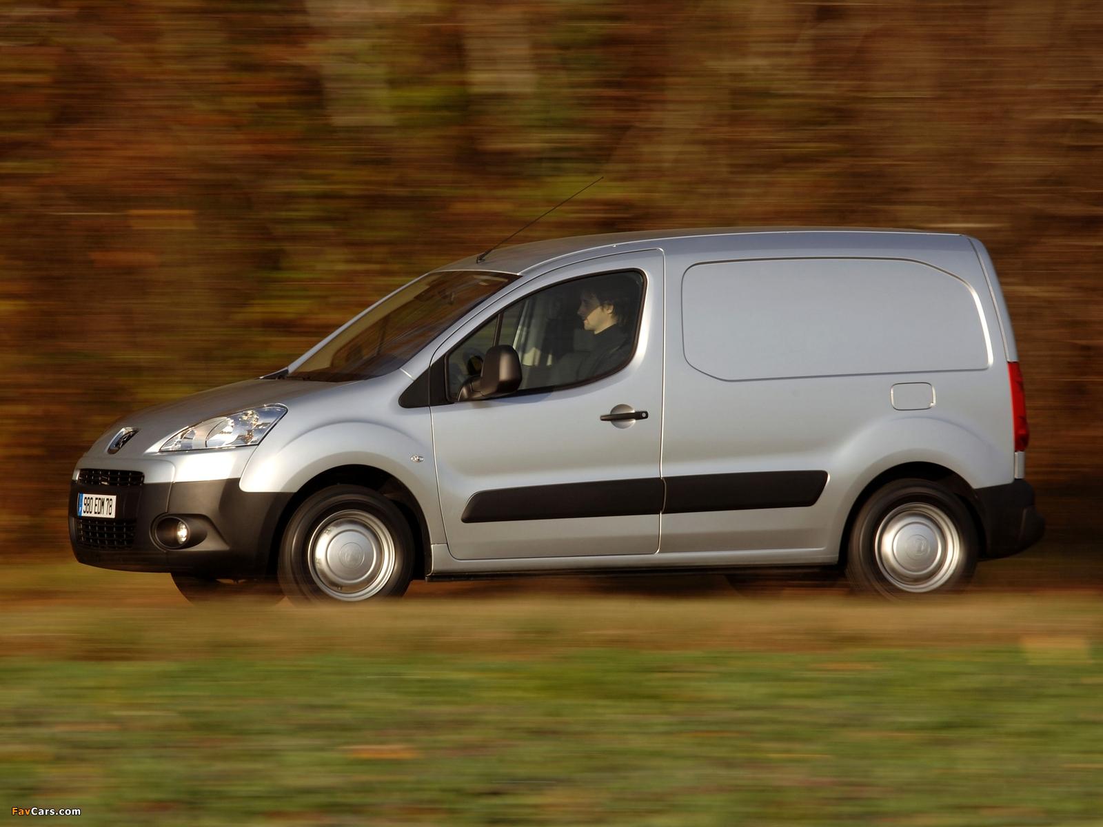 Peugeot Partner Van 2008–12 wallpapers (1600 x 1200)
