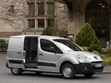 Peugeot Partner Van 2008–12 wallpapers