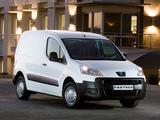 Peugeot Partner Van ZA-spec 2008–12 wallpapers