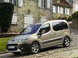 Peugeot Partner Tepee 2008–12 wallpapers