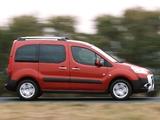 Peugeot Partner Tepee Outdoor Pack 2010 wallpapers