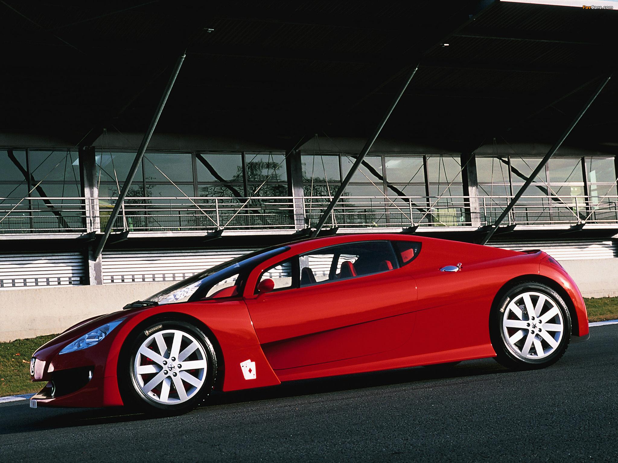 Peugeot RC Diamonds Concept 2002 pictures (2048 x 1536)