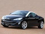Images of Peugeot RCZ ZA-spec 2010