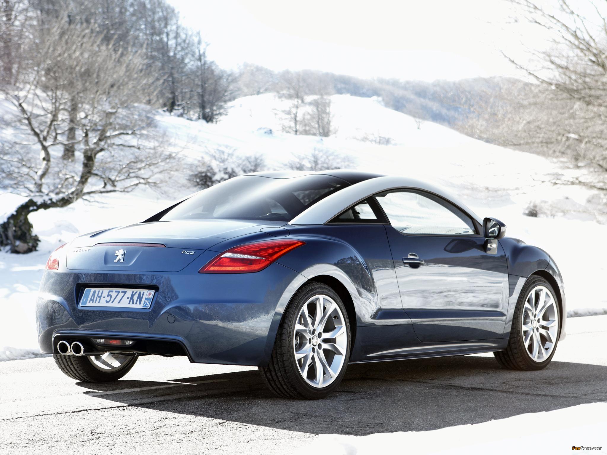 Images of Peugeot RCZ 2010 (2048 x 1536)