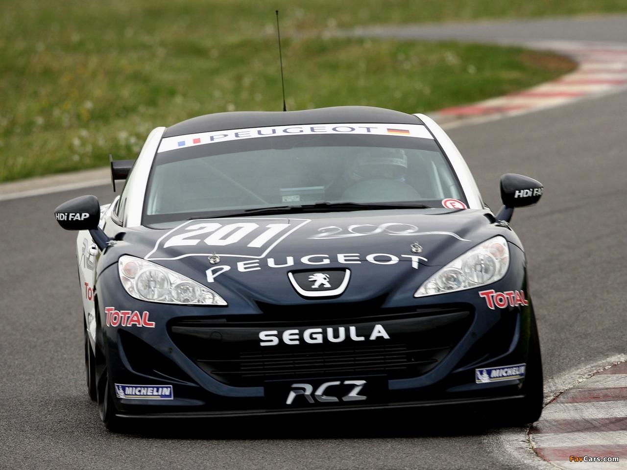 Images of Peugeot RCZ Race Car 200ANS 2010 (1280 x 960)
