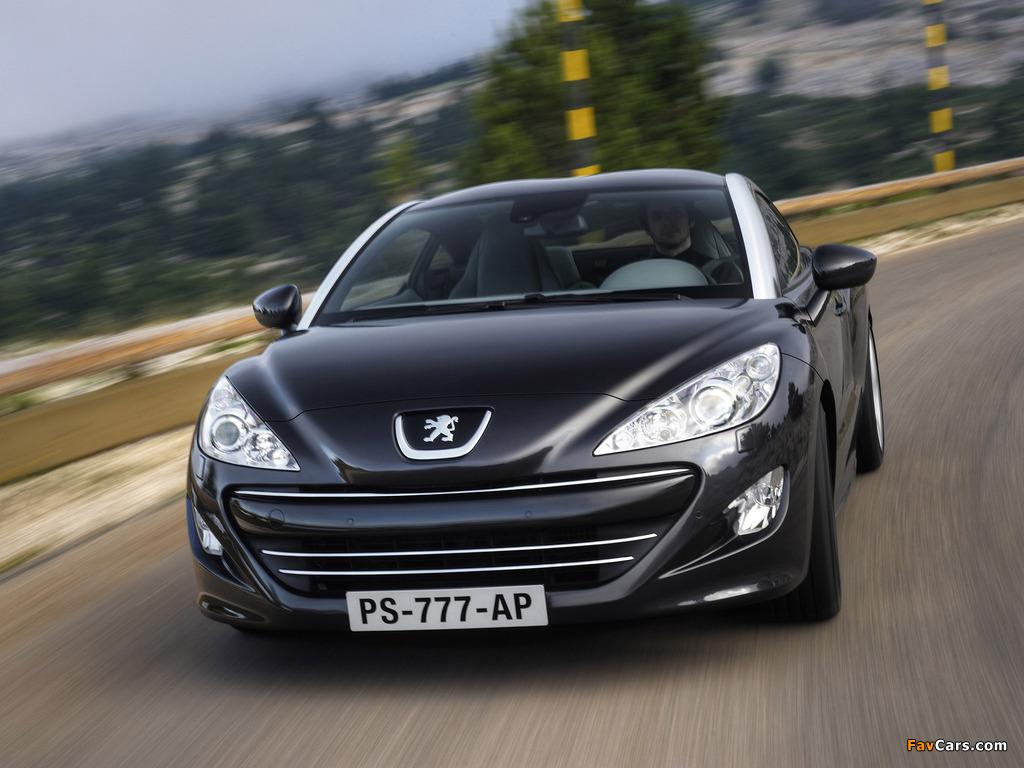 Images of Peugeot RCZ 2010 (1024 x 768)