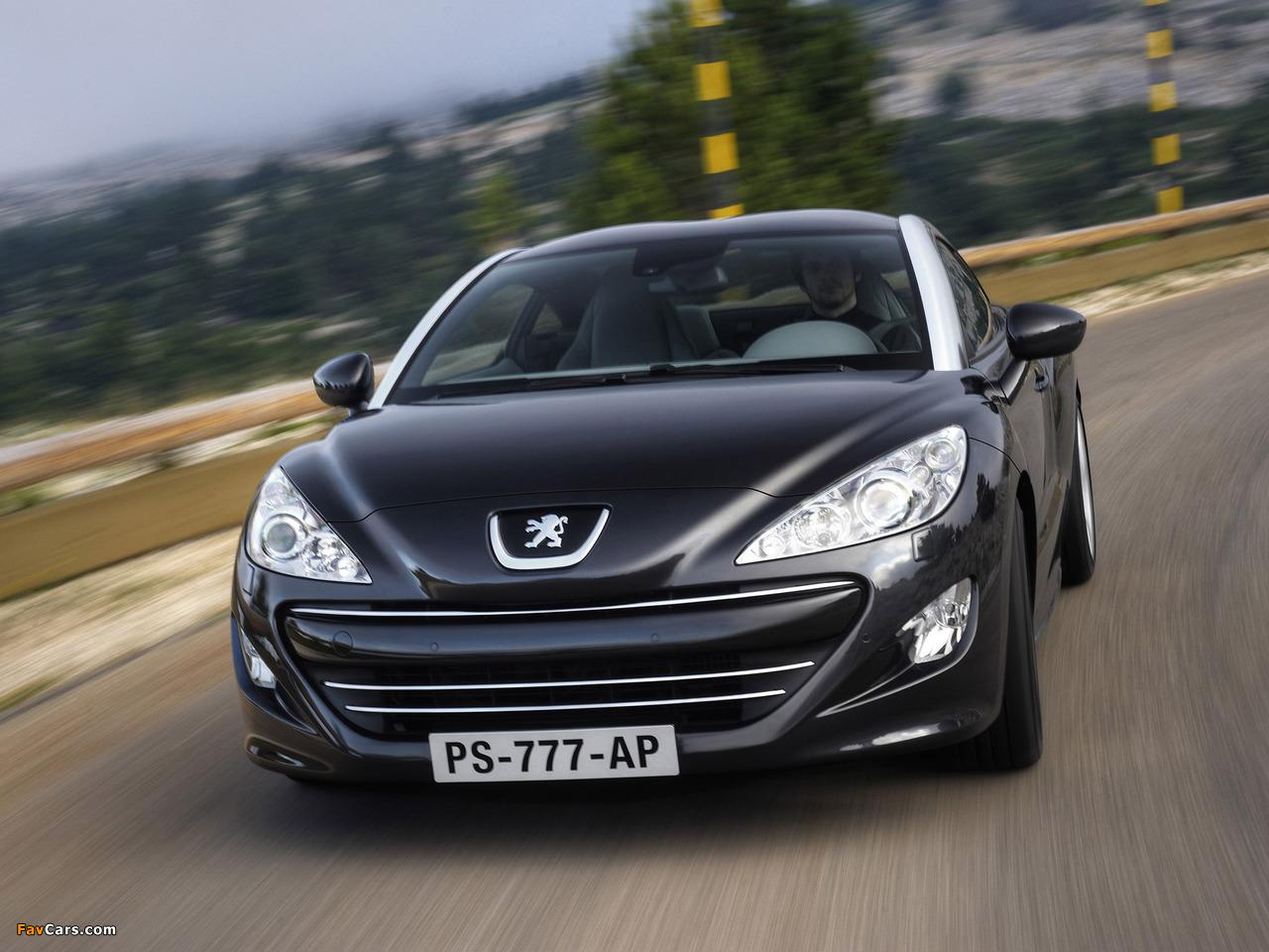Images of Peugeot RCZ 2010 (1280 x 960)