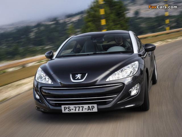 Images of Peugeot RCZ 2010 (640 x 480)