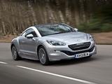 Images of Peugeot RCZ UK-spec 2013