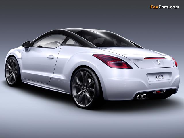 Peugeot RCZ Limited Edition 2009 pictures (640 x 480)