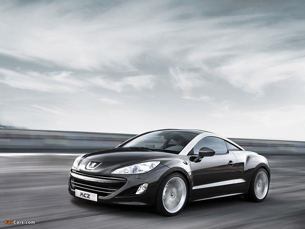Peugeot RCZ 2010 images (1024 x 768)