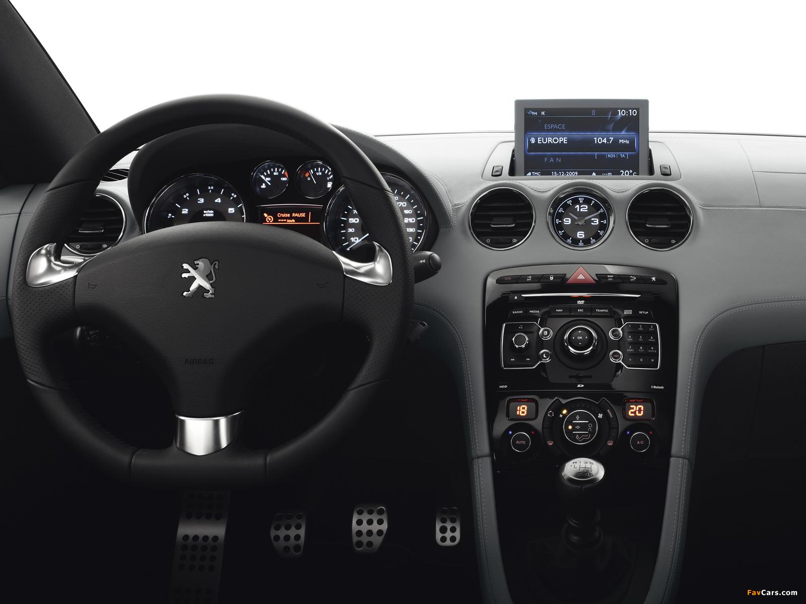 Peugeot RCZ 2010 images (1600 x 1200)