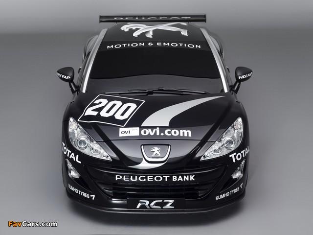 Peugeot RCZ Race Car 200ANS 2010 images (640 x 480)