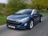 Peugeot RCZ UK-spec 2010 images