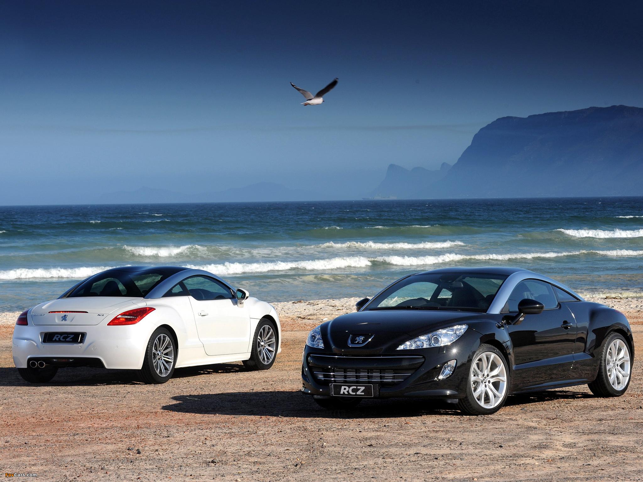 Peugeot RCZ ZA-spec 2010 images (2048 x 1536)