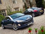 Peugeot RCZ UK-spec 2010 photos