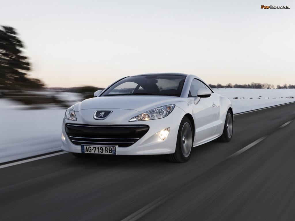 Peugeot RCZ 2010 pictures (1024 x 768)