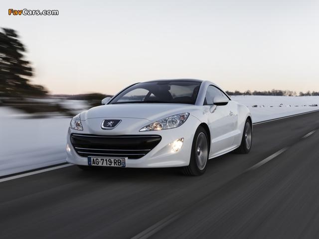 Peugeot RCZ 2010 pictures (640 x 480)