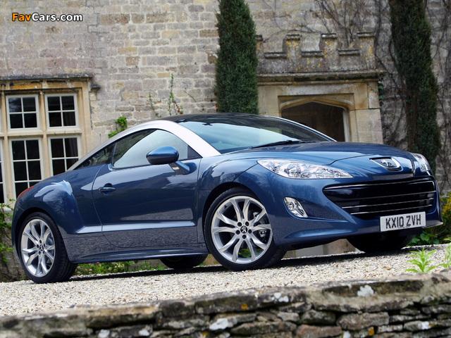 Peugeot RCZ UK-spec 2010 pictures (640 x 480)