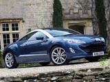 Peugeot RCZ UK-spec 2010 pictures