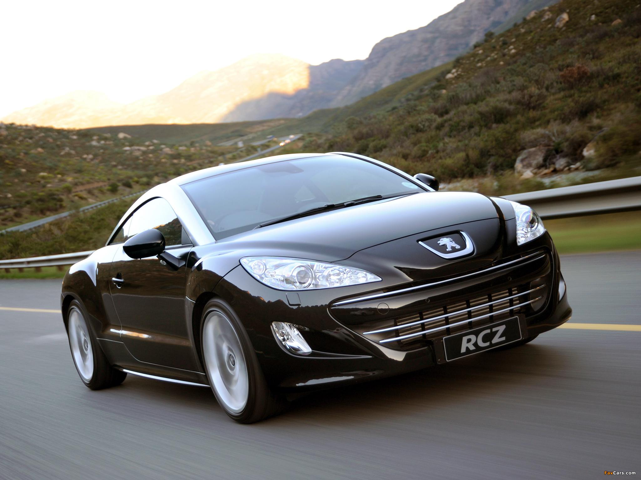 Peugeot RCZ ZA-spec 2010 pictures (2048 x 1536)