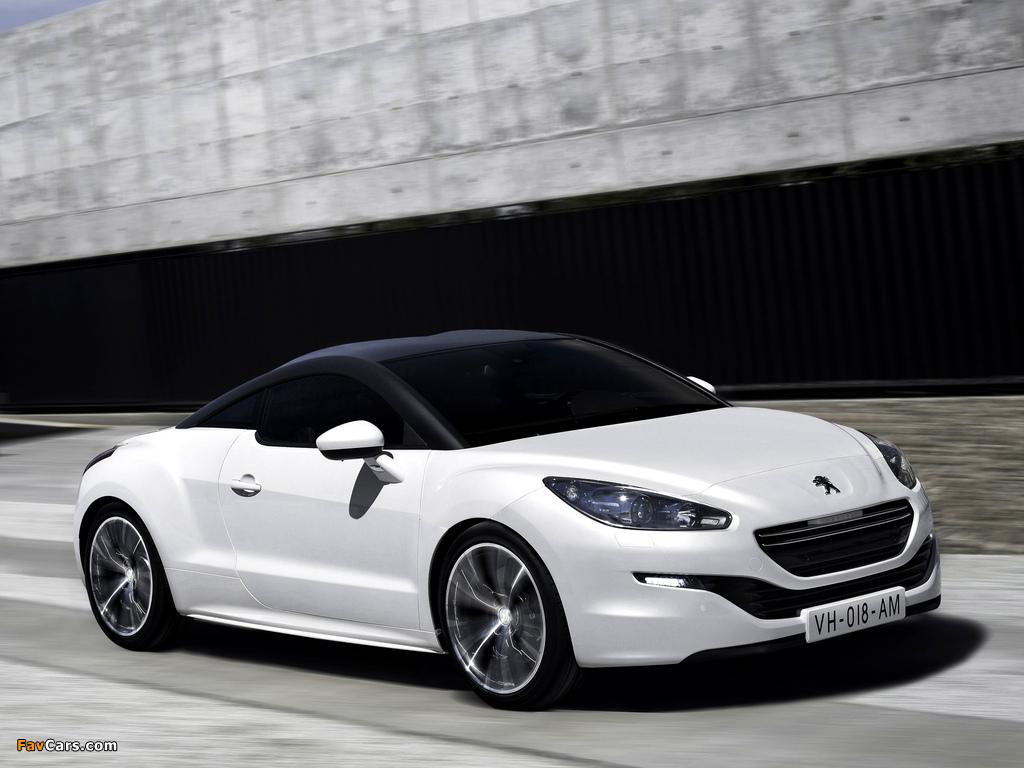 Peugeot RCZ 2012 pictures (1024 x 768)
