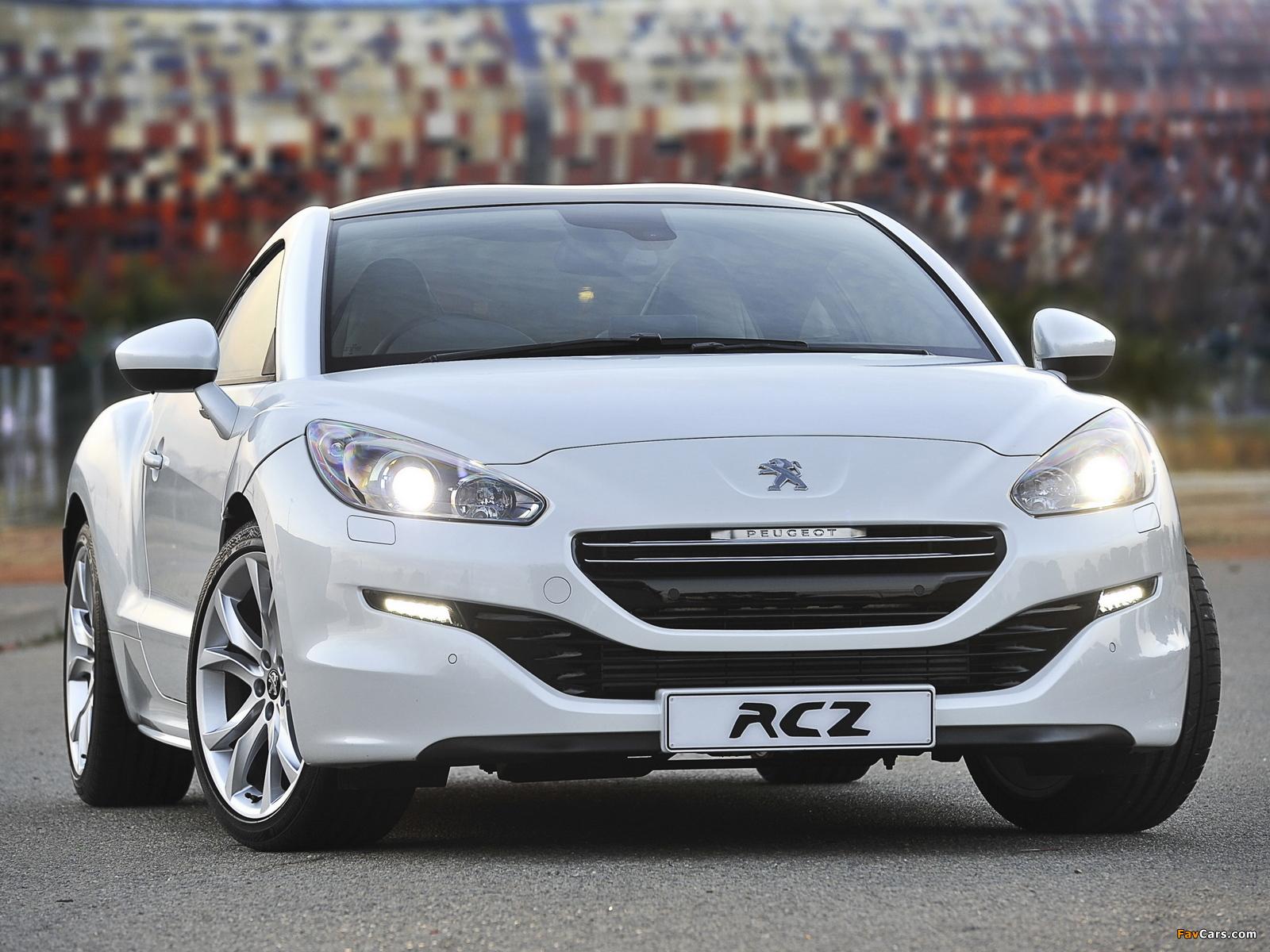 Peugeot RCZ ZA-spec 2013 photos (1600 x 1200)