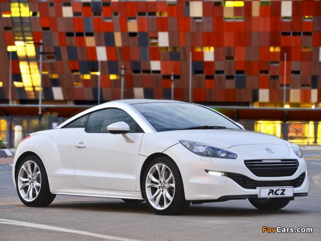 Peugeot RCZ ZA-spec 2013 pictures (640 x 480)