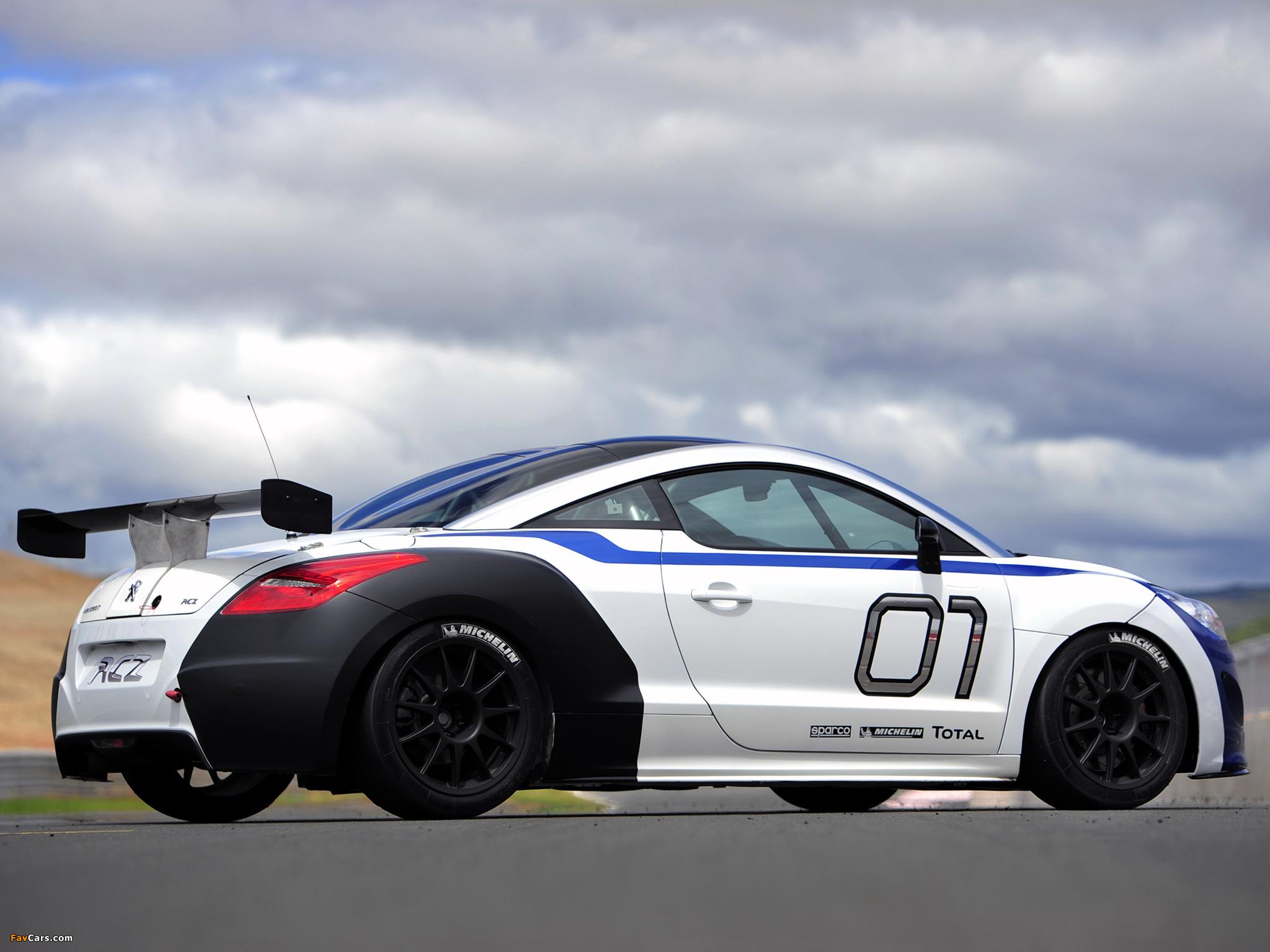 Photos of Peugeot RCZ Race Car 200ANS 2010 (2048 x 1536)