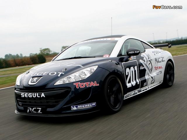 Photos of Peugeot RCZ Race Car 200ANS 2010 (640 x 480)