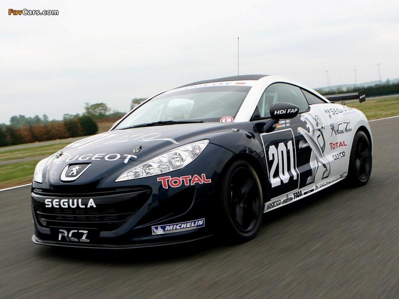Photos of Peugeot RCZ Race Car 200ANS 2010 (800 x 600)