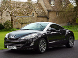 Photos of Peugeot RCZ UK-spec 2010