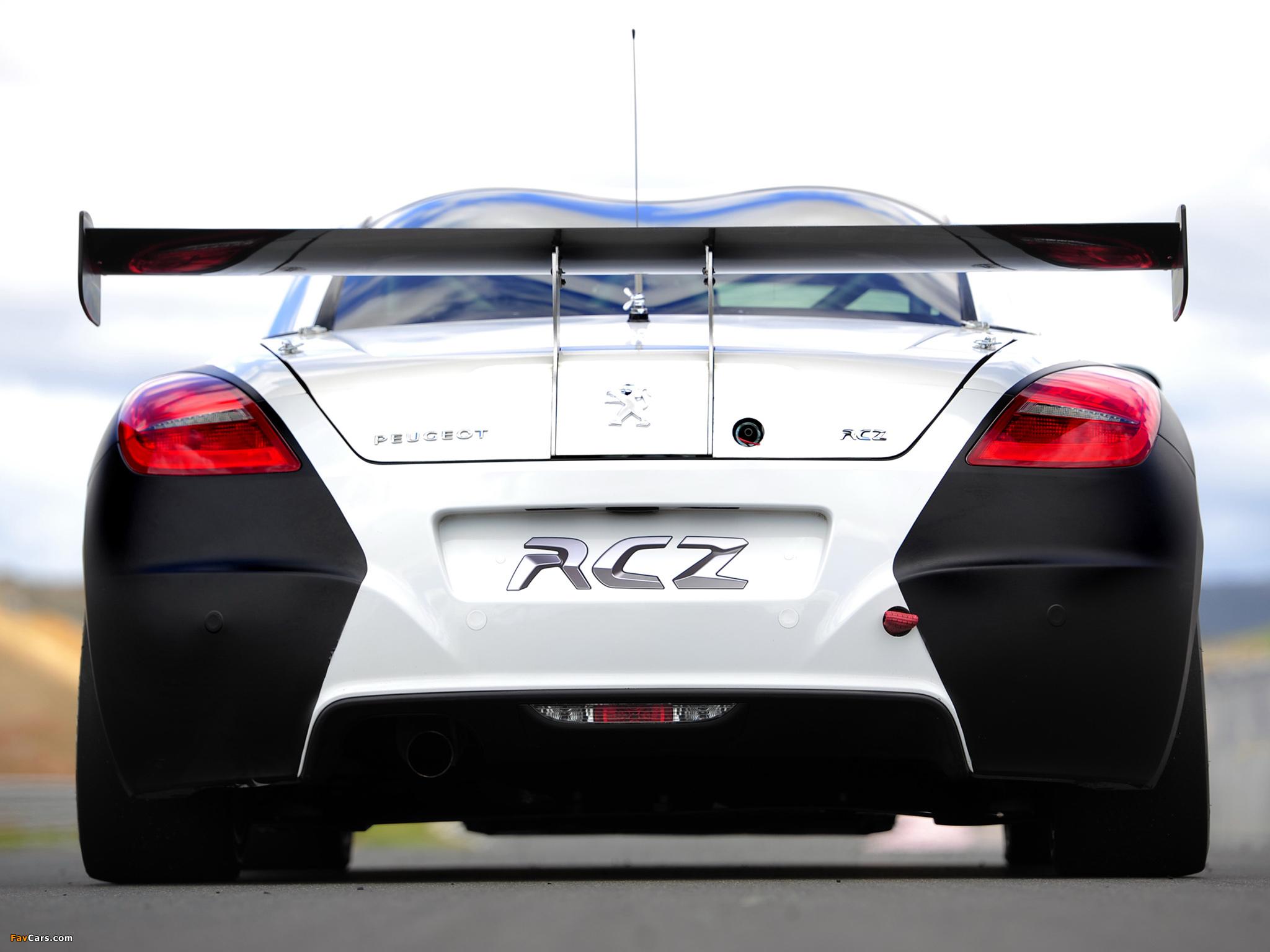 Pictures of Peugeot RCZ Race Car 200ANS 2010 (2048 x 1536)