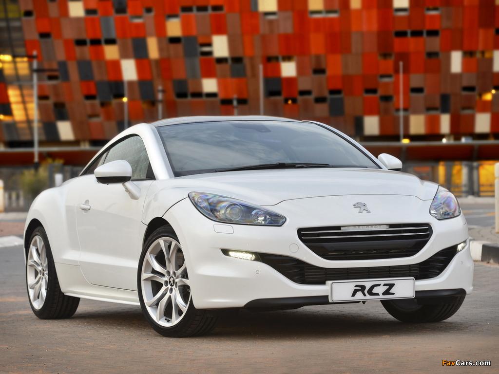 Pictures of Peugeot RCZ ZA-spec 2013 (1024 x 768)