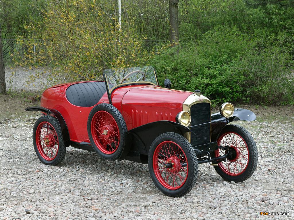 Images of Peugeot Type 172 Quadrilette 1923 (1024 x 768)