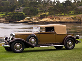 Photos of Pierce-Arrow Model 41 Convertible Victoria by LeBaron 1931