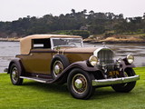 Pierce-Arrow Model 41 Convertible Victoria by LeBaron 1931 pictures