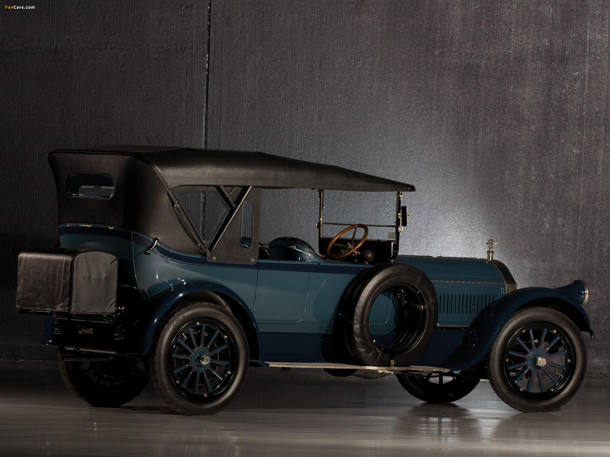 Images of Pierce-Arrow Model 66 Touring 1917 (2048 x 1536)
